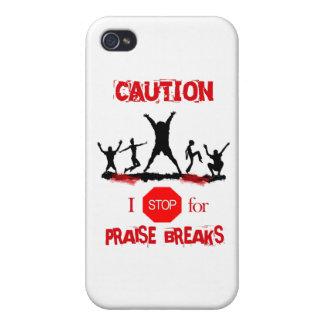 Praise Break (no sign) iPhone 4/4S Covers