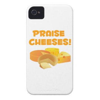 Praise Cheeses! iPhone 4 Case-Mate Cases