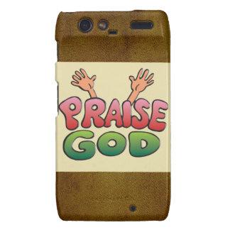 PRAISE GOD DROID RAZR CASES