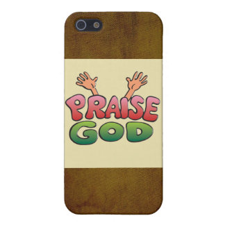 PRAISE GOD COVER FOR iPhone 5/5S