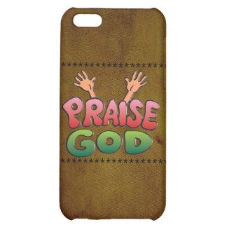PRAISE GOD iPhone 5C COVER