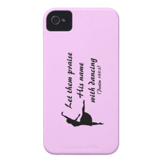 Praise Him with Dancing Case iPhone 4 Cases