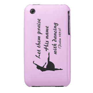 Praise Him With Dancing Case iPhone 3 Case-Mate Cases