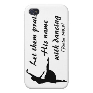 Praise Him With Dancing (Psalms 149:3) iPhone Case iPhone 4/4S Cover