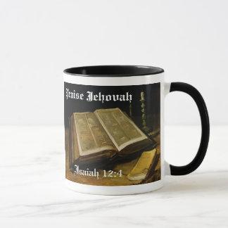Praise Jehovah - The Bible Van Gogh Mug