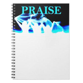 Praise notebook