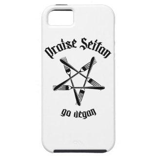Praise Seitan 1.1 (black) iPhone 5 Case