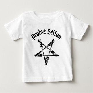 Praise Seitan 1.2 (black) Baby T-Shirt