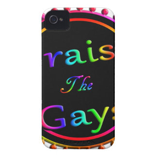 Praise the gays iPhone 4 Case-Mate case