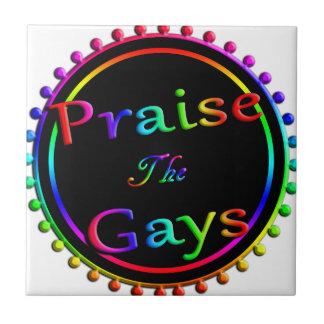 Praise the gays tile