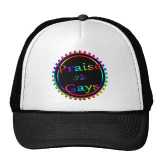 Praise the gays trucker hat