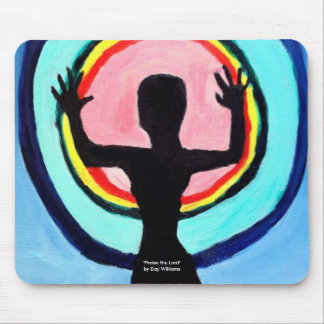 Praise the Lord Mouse Pad