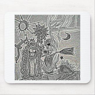 praiseandburn mouse pad