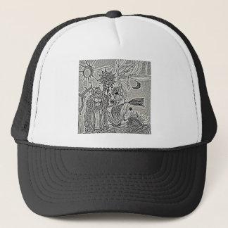 praiseandburn trucker hat
