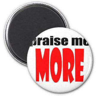 PRAISEmemore praise appraise more teacher school c 2 Inch Round Magnet