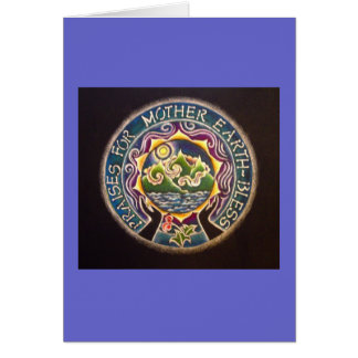 Praises for Mother Earth Mandala Card
