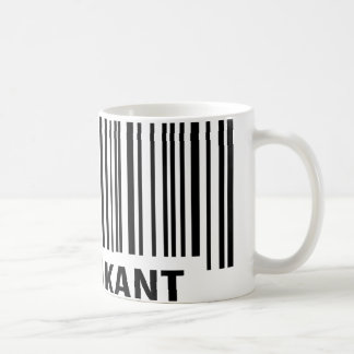 praktikant barcode label coffee mug