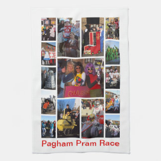 Pram Race Kitchen Towel