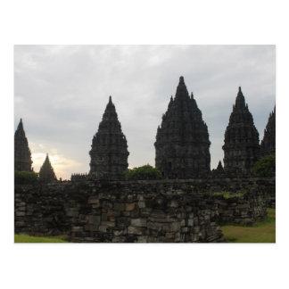 Prambanan temple , Indonesia Postcard