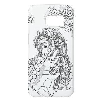 Prancing Daisy Horse Samsung Galaxy S7 Samsung Galaxy S7 Case