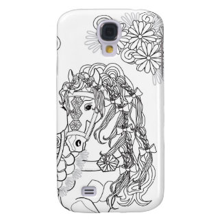 Prancing Daisy Horse Samsung S4 Case