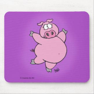 Prancing Pig Mousepad
