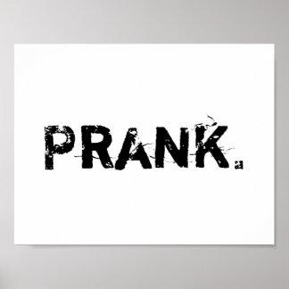 """Prank"" poster"