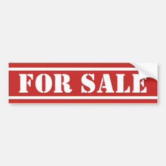 "Prank sticker ""FOR SALE"""