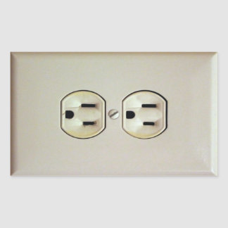 Prank Wall Outlet Decal Sticker