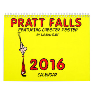 Pratt Falls Featuring Chester Pester Calendar
