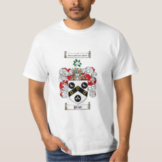 Pratt Family Crest - Pratt Coat of Arms T-Shirt