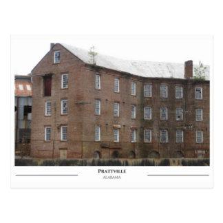 Pratt Gin Factory - Prattville Alabama Postcard