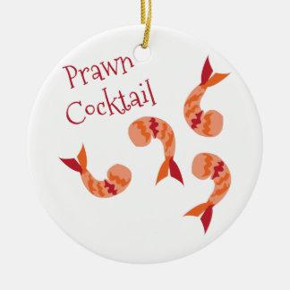 Prawn Cocktail Ceramic Ornament