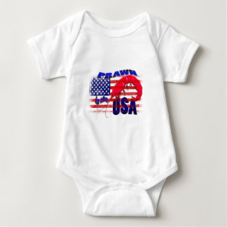 prawn in the usa baby bodysuit