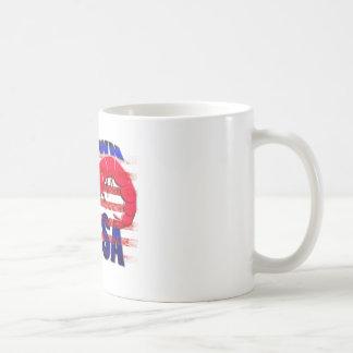prawn in the usa coffee mug
