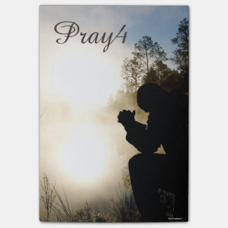 Pray4 Christian Prayer (use own photo) Post-it Notes