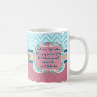 Pray about Everything Dana Mug