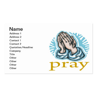 Pray Business Card