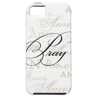 Pray Christian Quote by Enchanting Quotes iPhone 5 Cover