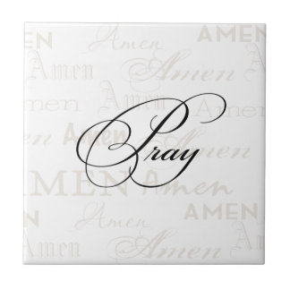 Pray Christian Quote by Enchanting Quotes Ceramic Tiles