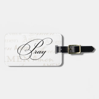 Pray Christian Quote by Enchanting Quotes Tag For Luggage