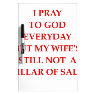 PRAY DRY ERASE BOARD