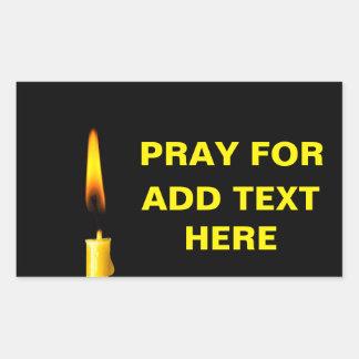 Pray For Add Text Sticker