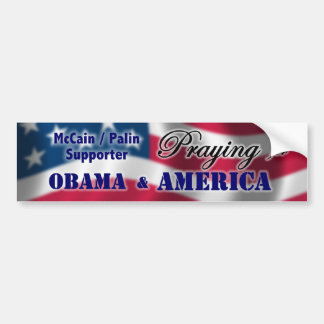 Pray for America Bumper Sticker