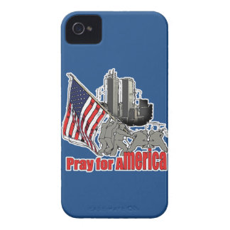 Pray for america iPhone 4 Case-Mate cases