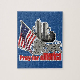 Pray for america jigsaw puzzle