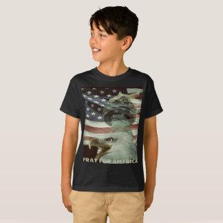 Pray For America Kid's T-Shirt