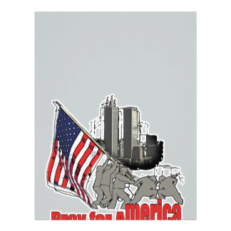 Pray for america letterhead