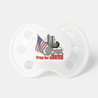 Pray for america pacifier