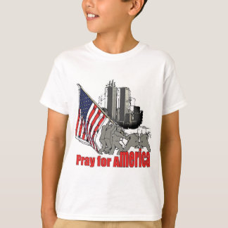 Pray for america T-Shirt